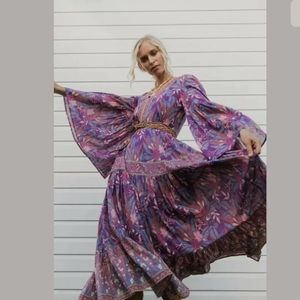 Spell and the gypsy Bianca gown wisteria 289! M